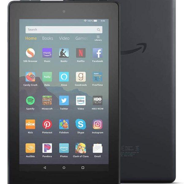Amazon Kindle and Back Front