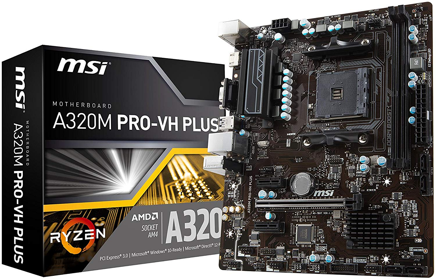 MSI A320 PRO-VH PLUS Motherboard