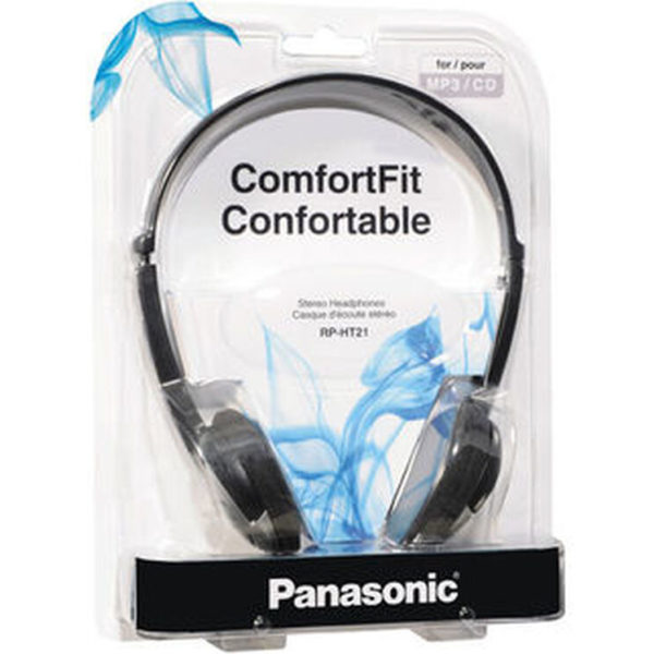 Panasonic RP-HT21 Stereo Headphoes Package