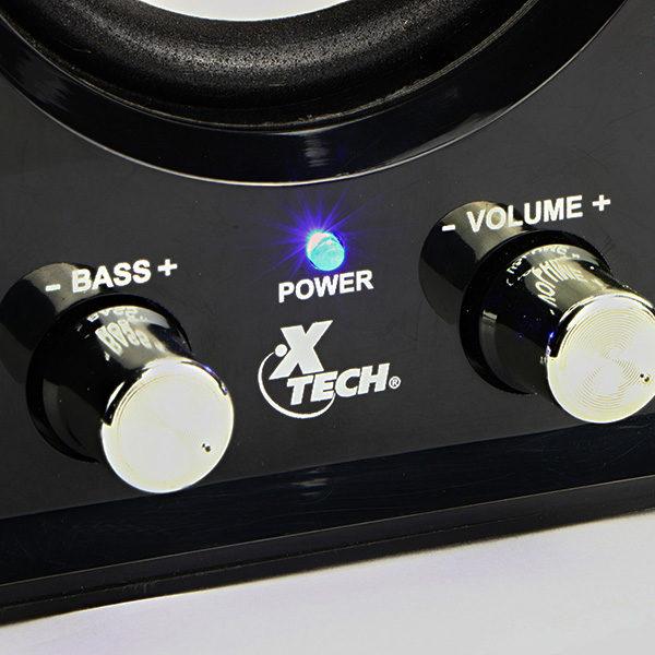 Xtech XTS375 2.1 Channel Speaker System 3