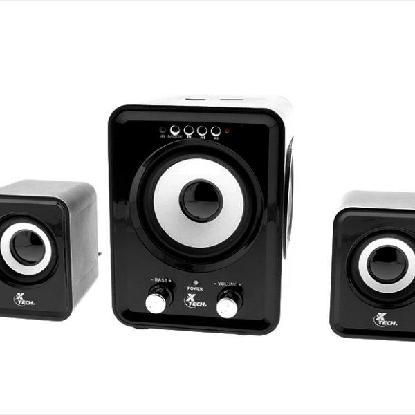 Xtech XTS375 2.1 Channel Speaker System 6
