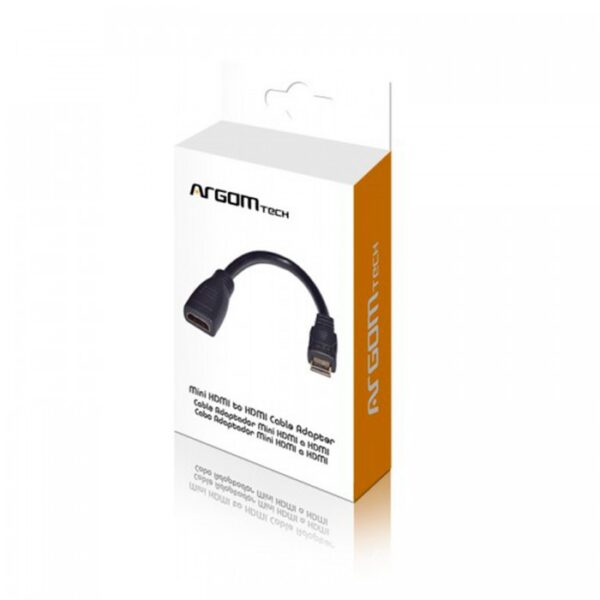 ArgomTech Mini HDMI to HDMI Cable Package