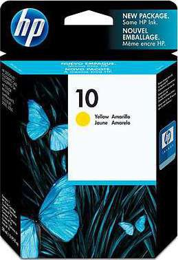 HP 10 Ink Yellow