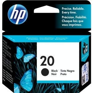 HP 20 Ink Black