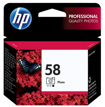 HP 58 Ink Photo-Color
