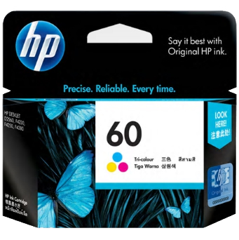 HP 60 Ink Tri-Color