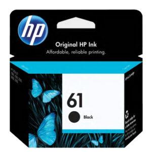 HP 61 Ink Black