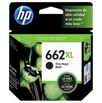 HP 662 Ink XL Black