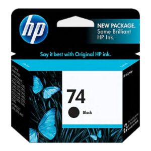 HP 74 Ink Black