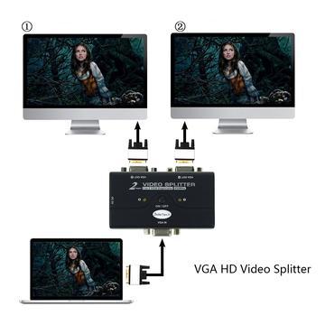 JideTech VGA Video Splitter 1 to 2 HD Splitting