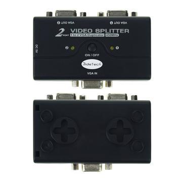JideTech VGA Video Splitter 1 to 2 top bottom view