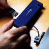 Klip Xtreme Universal 4-port USB 2.0 hub Connecting Device