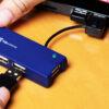 Klip Xtreme Universal 4-port USB 2.0 hub Ports