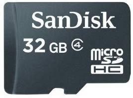 SanDisk 32GB Micro SD Card - MicroSDHC Class 4 C4 Card
