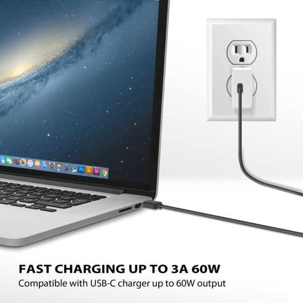 iLuv USB-C to USB-A Cable Charging