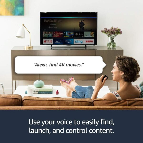 Amazon Fire TV Stick 4K Alexa Example