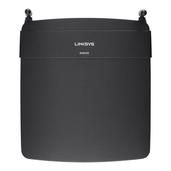 Linksys EA6100 AC1200 Dual-Band WiFi Router Top