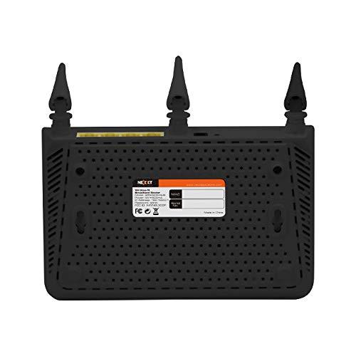 Nexxt Nebula300plus Wireless N Broadband Router Bottom