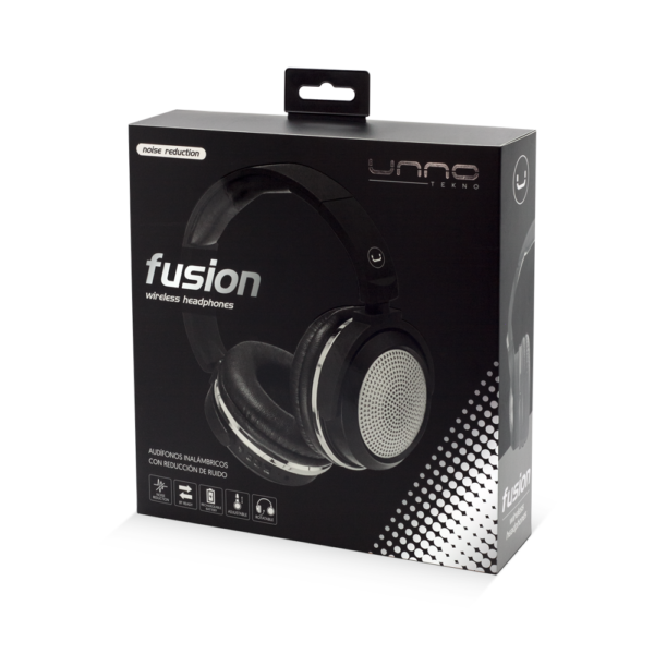 Fusion BT Bluetooth Headset with MIC Package Silver