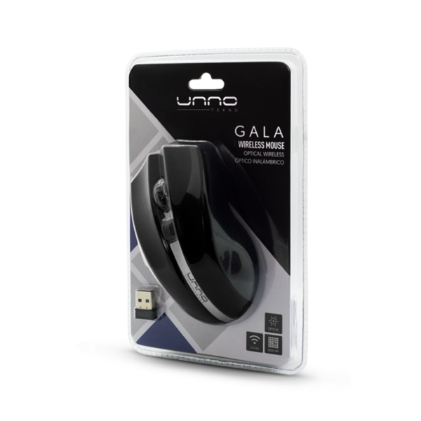 Gala Wireless Mouse - Black Package