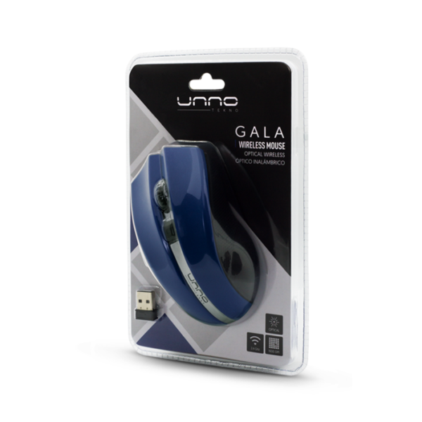 Gala Wireless Mouse Package - Blue