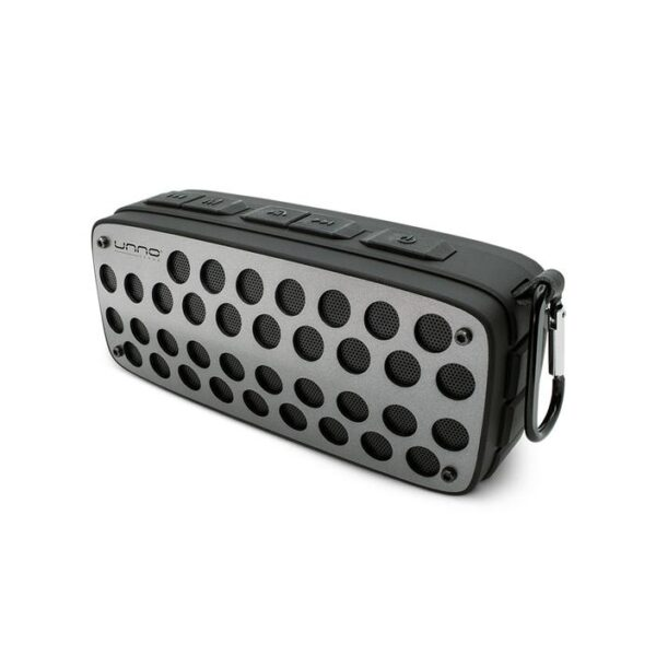 Titanium Bluetooth speaker - TWS - True Wireless Stereo Splash Proof - Black