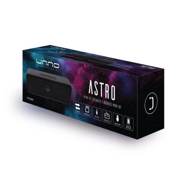 Astro Bluetooth Wireless Speaker Black Package