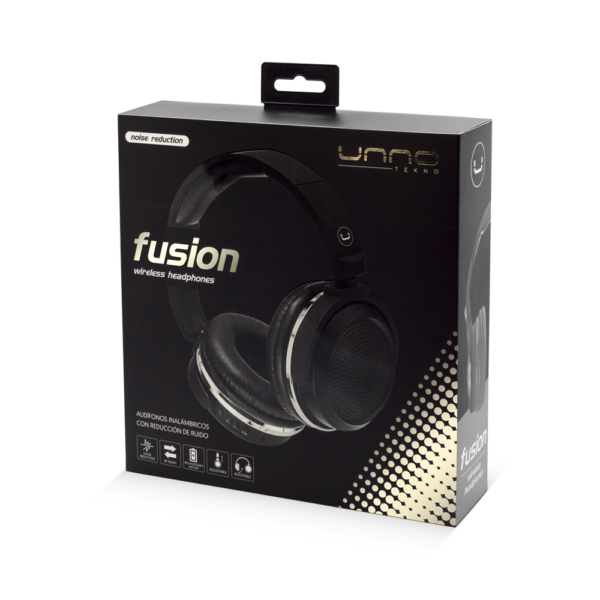Fusion BT Bluetooth Headset with MIC Package Black