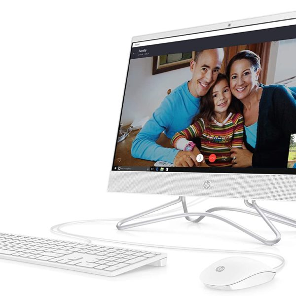 HP 21.5-Inch All-in-One Computer Front 3