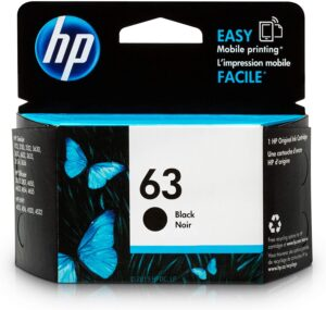 HP 63 Black Ink Cartridge