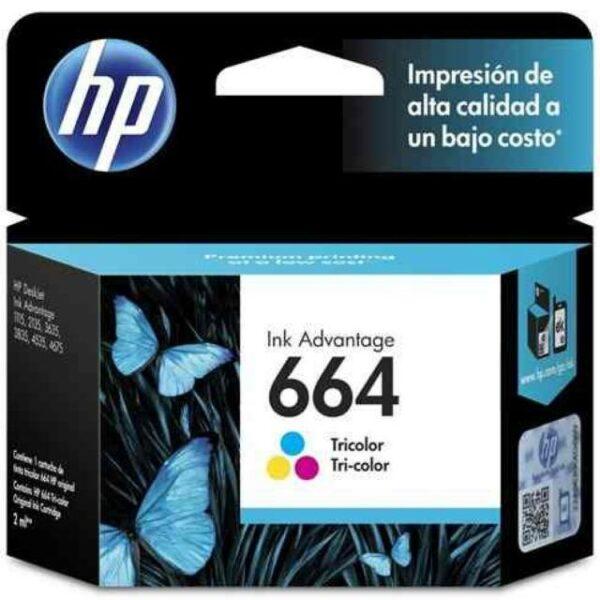 HP 664 Tricolor Ink Cartridge