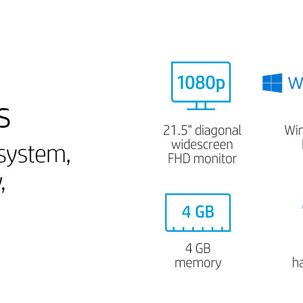 HP All In One Specs
