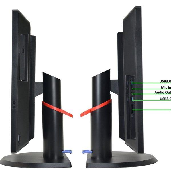Lenovo ThinkCentre M92z AIO Side