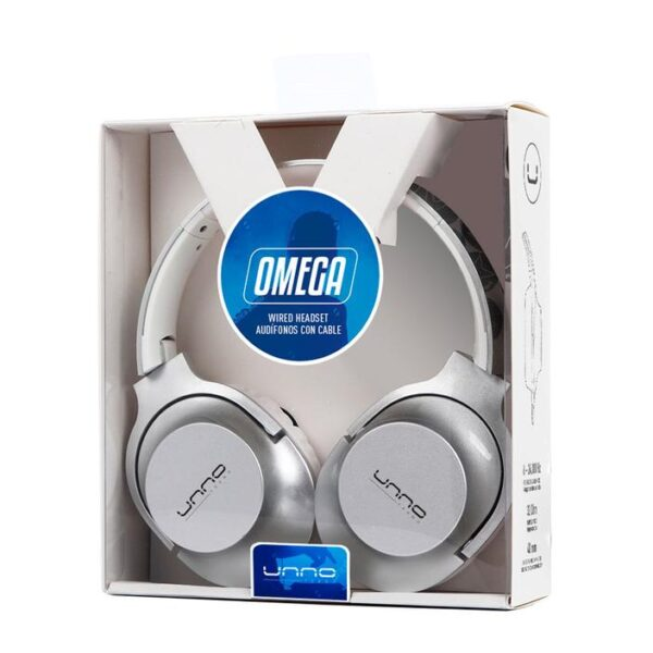 OMEGA 3.5 MM HEADSET Silver Package