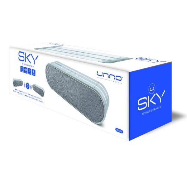 SKY BT Bluetooth Speaker TWS True Wireless Stereo Silver Package