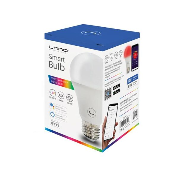 SMART RGBW BULB 8.5W WIFI Package