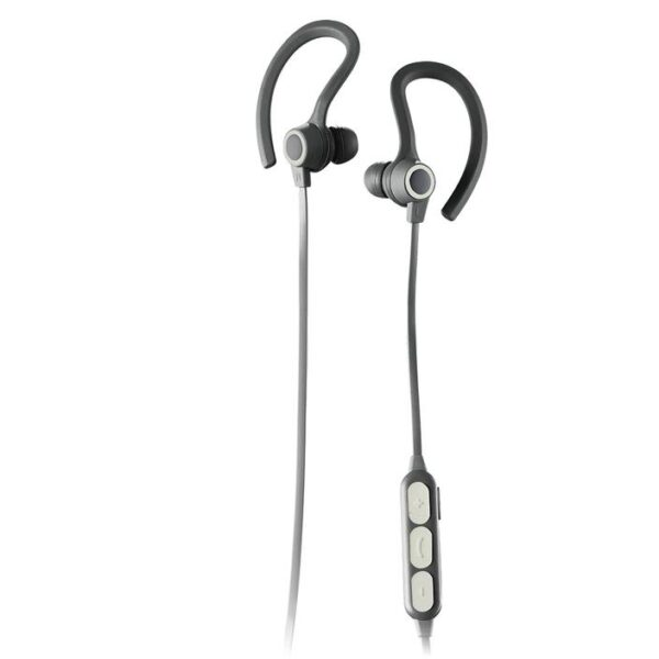 SPORTBUDS BT Bluetooth WIRELESS EARBUDS with MIC White Controls