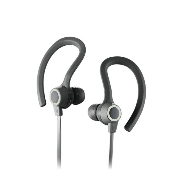 SPORTBUDS BT Bluetooth WIRELESS EARBUDS with MIC White Ear Hook