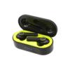 VIBE TWS True Wireless Stereo WIRELESS EARBUDS Black Charging Case
