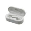 VIBE TWS True Wireless Stereo WIRELESS EARBUDS White Charging Case