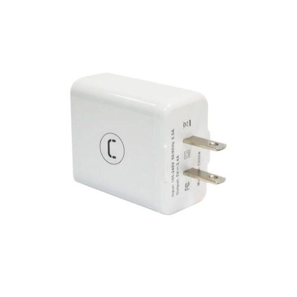 WALL CHARGER TRIPLE USB 3.4A Plug