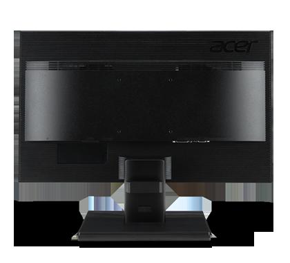 Acer V226HQL Bbi 21.5 Full HD 1920 x 1080 Monitor Back