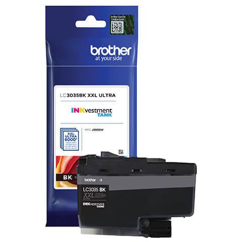 Brother LC3035BK XXL Ultra Black Ink