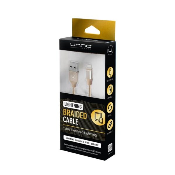Braided Lightning Cable 5ft Package