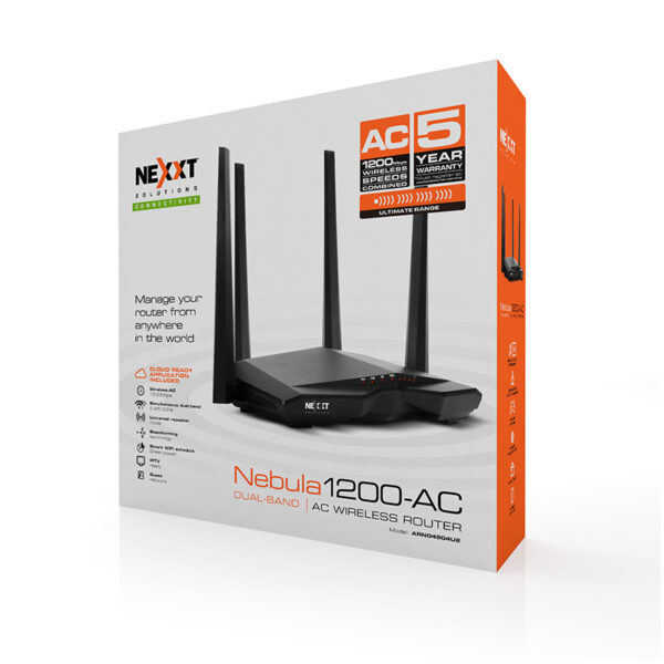 Nebula1200 AC Dualband Wireless Router 4