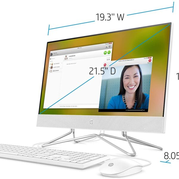 HP 22 inch All in One Desktop Computer 4