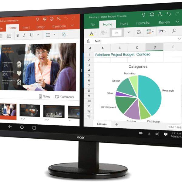 Acer K202HQL bd 20 Monitor DVI VGA 3