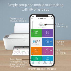 HP DeskJet 2755 Wireless All in One Printer 3