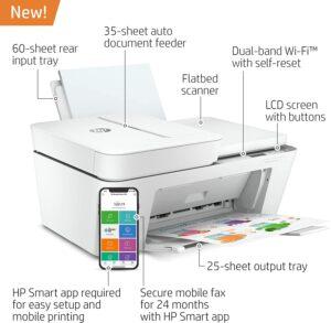 HP DeskJet 4155e All in One Wireless Color Printer 2
