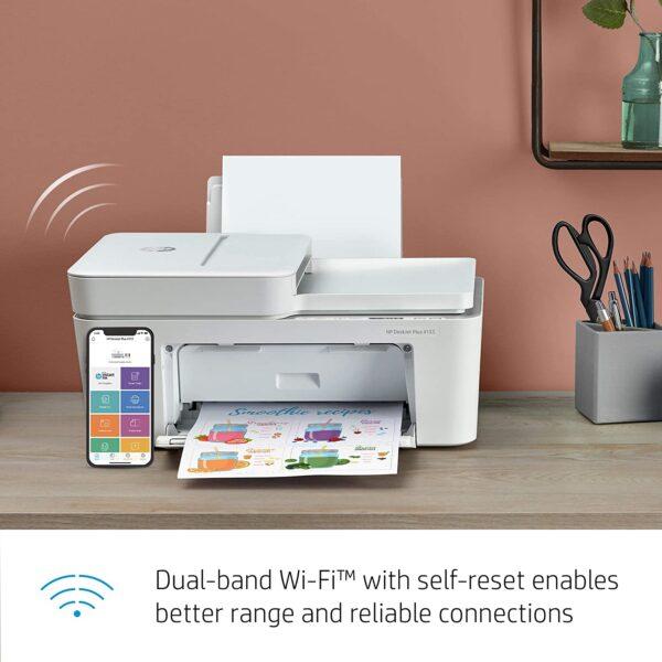 HP DeskJet 4155e All in One Wireless Color Printer 4